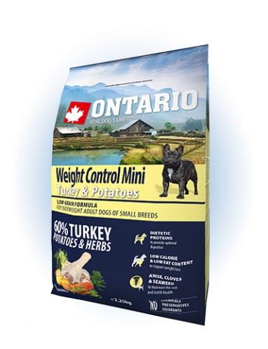 Ontario Mini Weight Control Turkey & Potatoes - 2,25