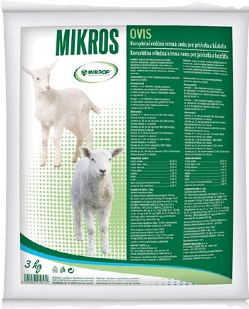 Mikrop OVIS mléčná směs jehňata/kůzlata 3 kg