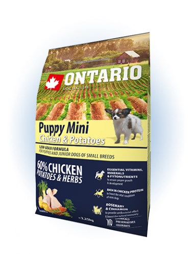 Ontario Puppy Mini Chicken & Potatoes  - 2,25