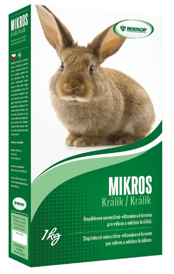 Mikrop Mikros králík 1 kg