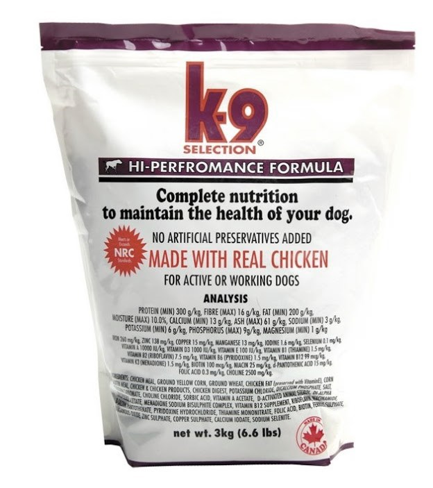 K-9 PERFORMANCE - 20kg
