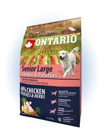 Ontario Senior Large Chicken & Potatoes - 12KG