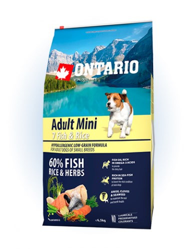 Ontario Adult Mini Fish & Rice - 6,5