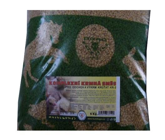 Kompletní krmivo pro výkrm krůt KR 3 5kg