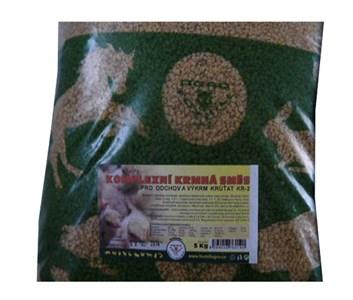 Kompletní krmivo pro výkrm krůt KR3 - 5kg