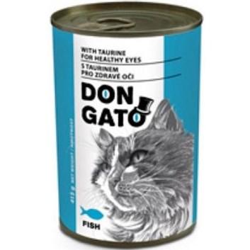 Dongato konzerva kočka ryba 415g