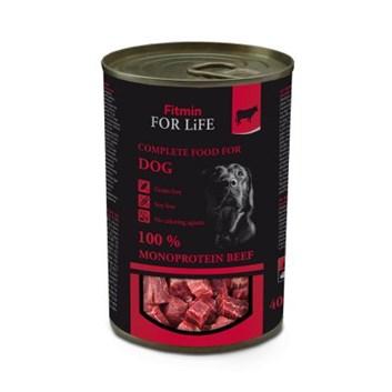 Fitmin For Life hovězí konzerva pro psy 400 g