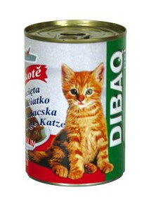 DIBAQ PET konzerva kotě 400 g