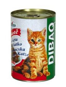 DIBAQ PET konzerva kotě - 400g