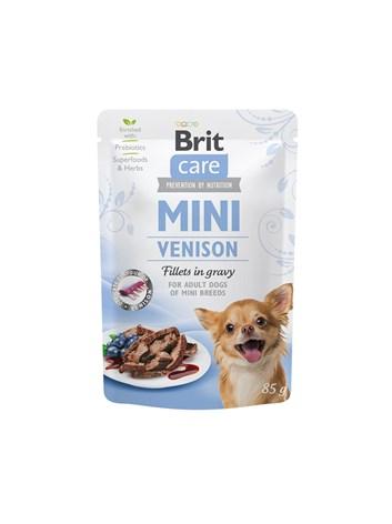 Brit Care Mini Venison fillets in gravy