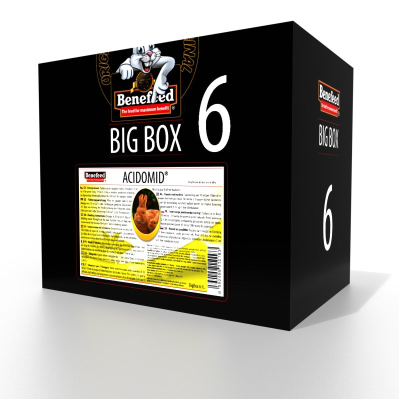 ACIDOMID KRÁLÍK 6 LITRŮ BIGBOX