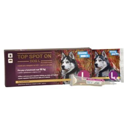 TOP SPOT-ON DOG 3ML L NAD 30 KG
