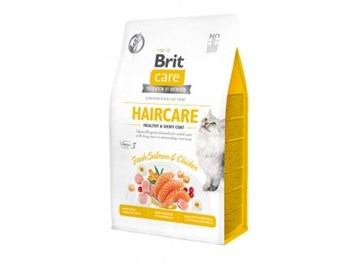 Brit Care Cat Grain-Free Haircare Healthy & Shiny Coat 7kg