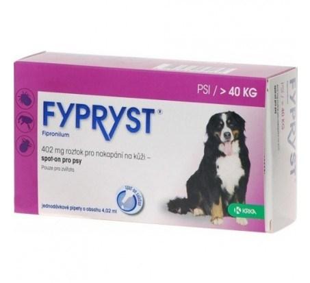 Fypryst spot on XL 1x4,02ml 402mg pes 40-60kg