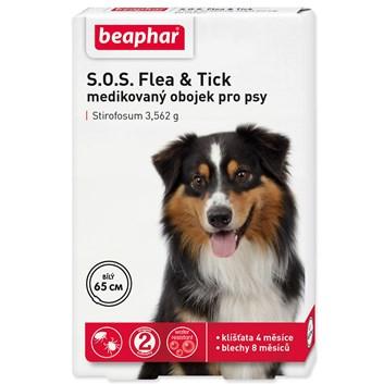 Beaphar Obojek antipar. pes SOS Flea & Tick 65cm 1ks
