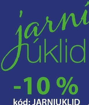 Extra sleva -10% s kódem: JARNIUKLID