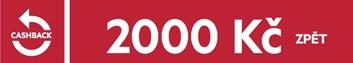 Cashback 2.000,- Kč