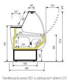Zoin Cordoba CY150BC ventilovaná, výklopná