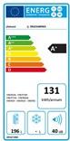 ZANUSSI ZRA21600WA energ