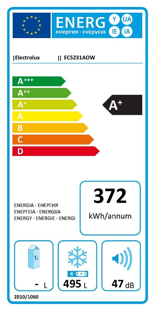 Electrolux EC5231AOW ENERG