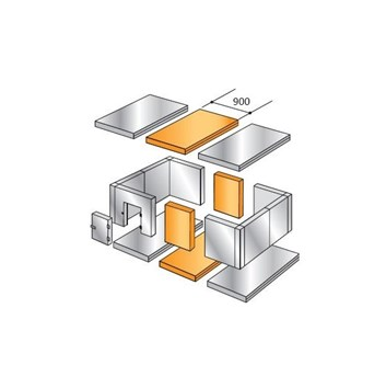 Rozšiřovací pás KXH 4,41 900x2560x2200