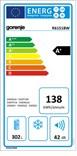 Gorenje R6151BW ENERG