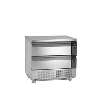 Tefcold UD2-2-P - chladicí/mrazicí stůl