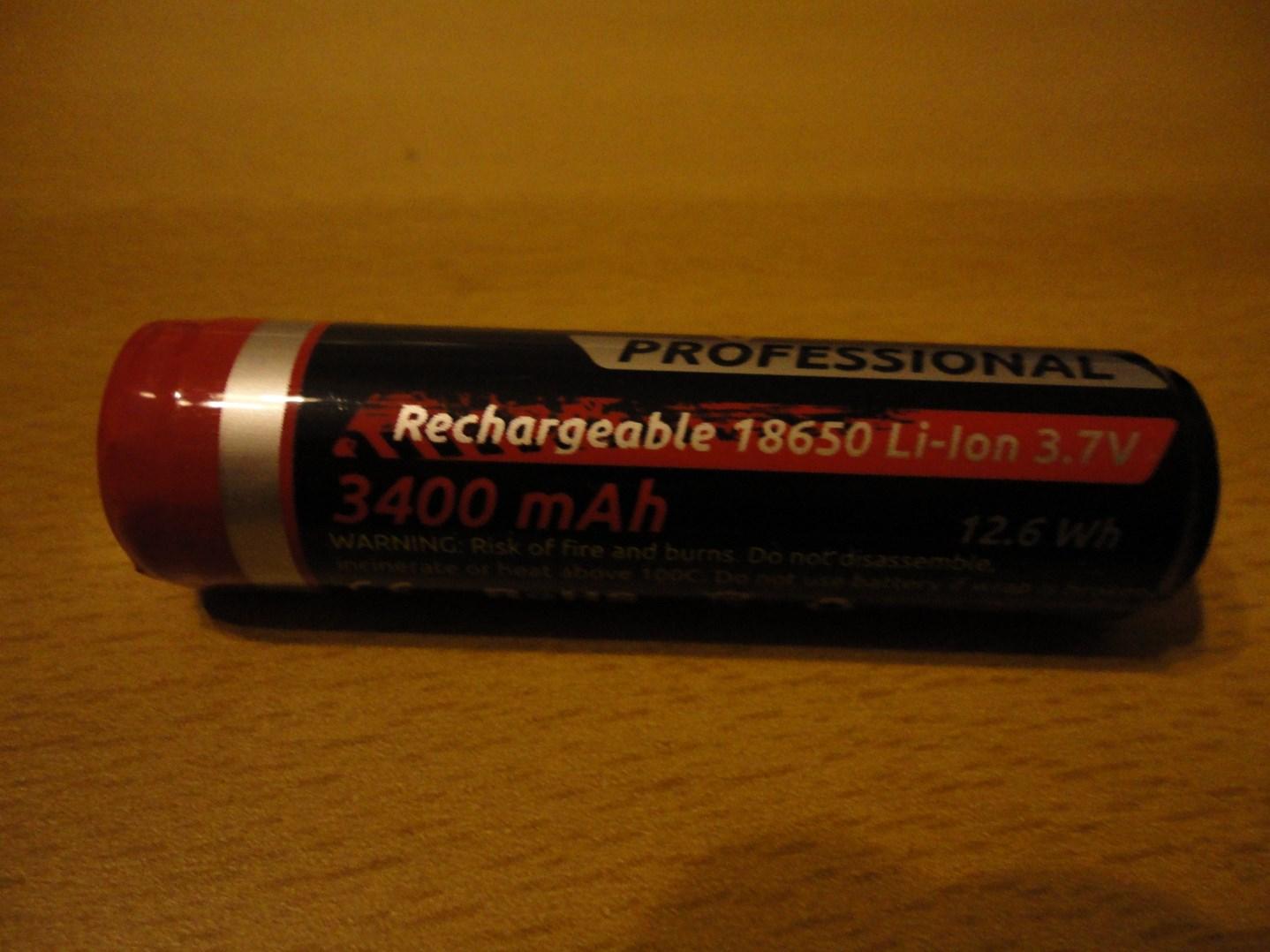 Panasonic 18650,3400mAh