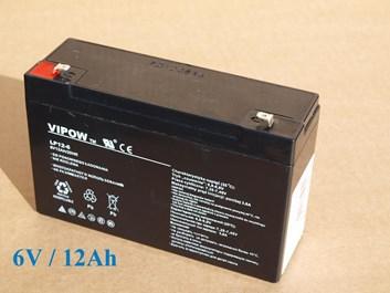 Baterie gelová Vipow 6V/12Ah/20HR pro dětská vozítka