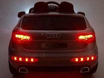 Dětské elektrické autíčko Audi Q7 s 2,4G DO a čalouněnou sedačkou a odpruženou nápravou - HLQ7 2,4G.black