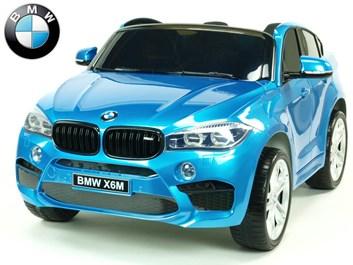 BMW X6M dvoumístné s 2,4G DO modrá