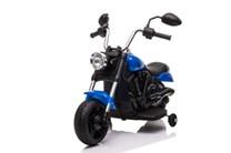 Dětská elektrická  motorka  Chopper  modrý