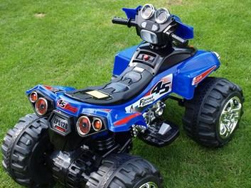 Dětská elektrická čtyřkolka FD Sport modrá