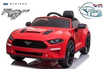 Driftovací  elektrické autíčko licenční  Ford Mustang 5.0 GT - lakované  čevené