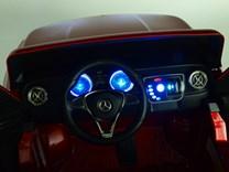 Mercedes – Benz X-Class 4x4, dvoumístný pick up s 2.4G DO, plynulým rozjezdem,USB, Mp4 přehrávač, čalouněním, EVA koly  XMX606.yellow