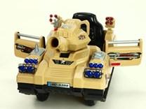 Dětský elektrický tank s DO a FM