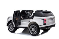 Dětské  autíčko Range Rover HSE, 4x4 pro 2 děti ,bílý