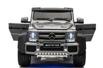 Mercedes Benz G63 s 6-ti motory a 2,4G DO, lakovaná sříbrná barva
