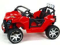 Dvoumístná  buggy  Cool sport 4x4, náhon 4 EVA kol, s 2.4G DO, USB, TF, Mp3, čalouněnou sedačkou 54cm, nádherným LED osvětlením