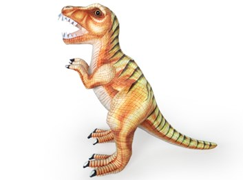 Plyšový Tyrannosaurus Rex  128 cm hnědý
