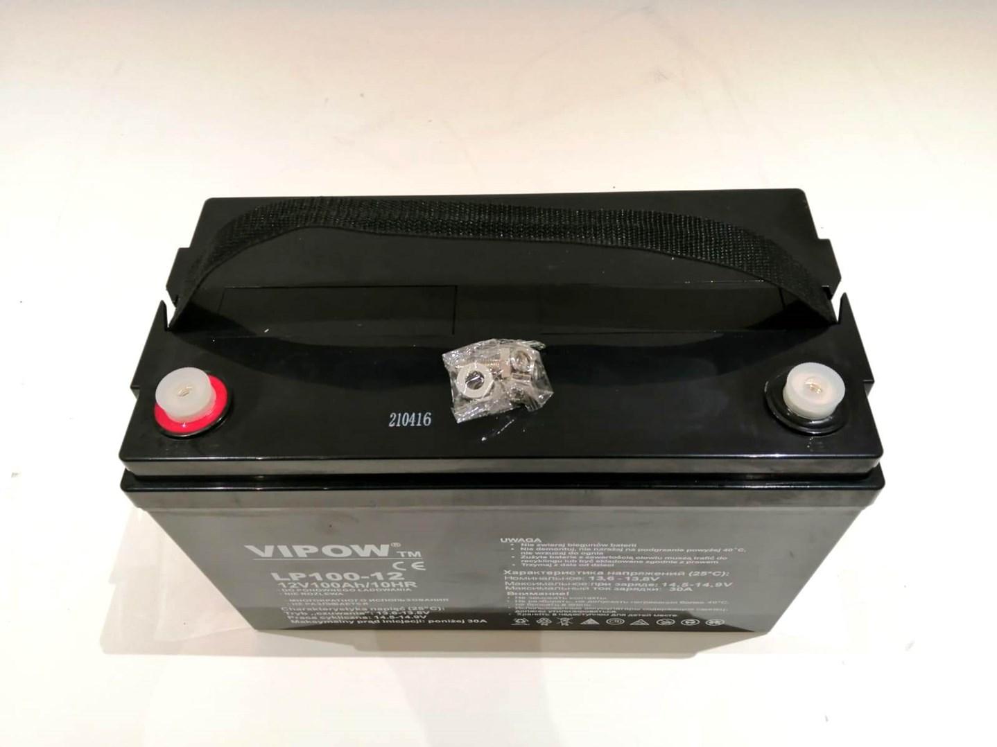 Baterie 12V/100Ah