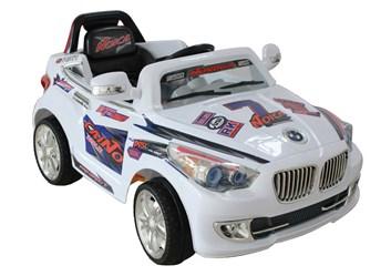 Elektrické autíčko sportovní cabrio  bílá
