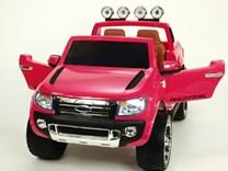Licenční džíp Ford Ranger LUX s DO růžová