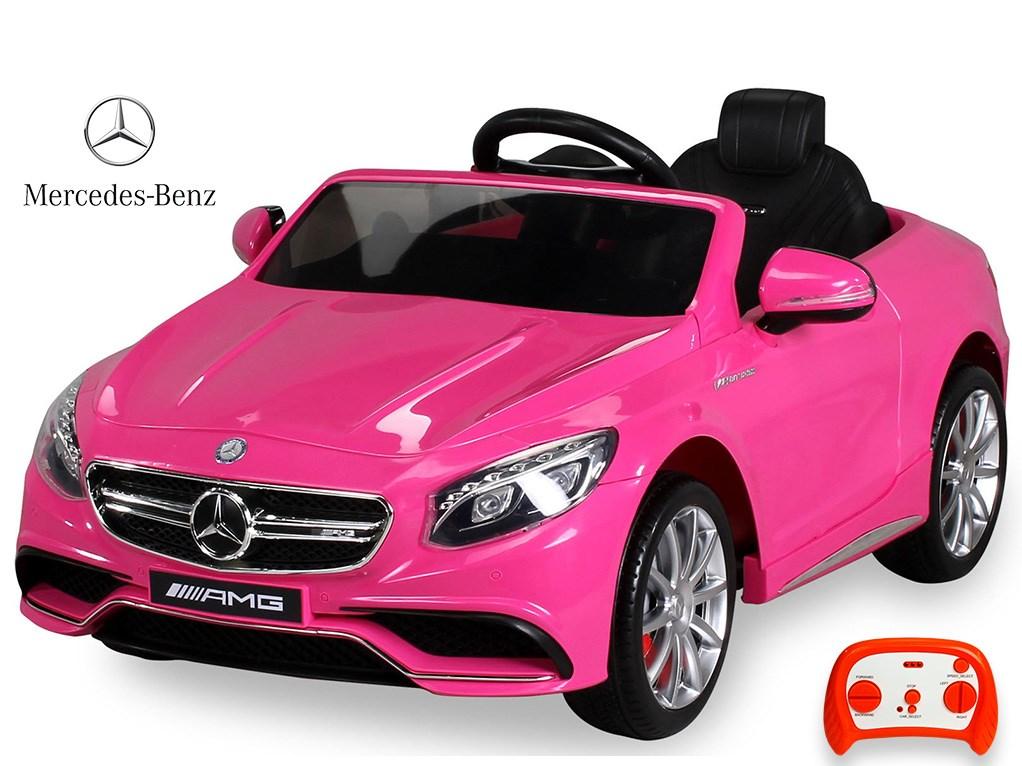 Dětské el. autíčko licenční Mercedes Benz S63 AMG  HL169.pin