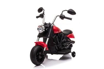 Dětská elektrická  motorka  Chopper červený