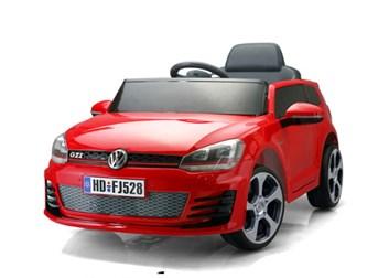 Dětské elektrické autíčko licenční VW Golf GTI SLOŽENÁ červená