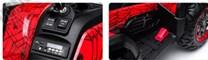Čtyřkolka Xmen s 2.4G červená