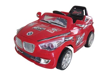 Elektrické autíčko sportovní cabrio  červená