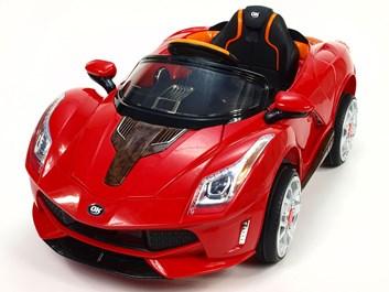 Dětské elektrické autíčko Rallye Ferrato červená