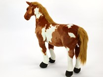 Plyšový kůň American Pain Horse velikost 78 cm - HR78AP